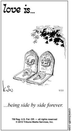 """love is comic strip 