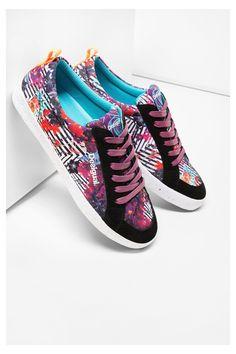 Desigual barevné sportovní boty Classic A - Dámské Sportovní Oblečení…