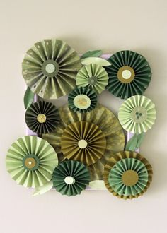 paper pinwheel art :)