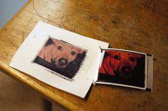 HOW TO - Polaroid transfers
