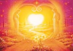 HG Leiendecker - way into the heart - Angel Gate on the life together Spiritual Pictures, Beach Color, Visionary Art, History Books, Spiritual Awakening, Wisconsin, Mystic, Poster, Celestial
