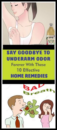 Say Goodbye To Underarm Odor Forever With These Effective Home Remedies #healthcare #fitness #saygoodbye #underarm #10effectiveremedies