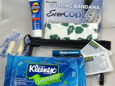 Band camp survival kit maybe put some together at Maddie's party??
