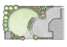 Split-level garden design for family garden Foxrock, Dublin, Ireland. www.owenchubblandscapers.com Patio Ideas Ireland, Architecture Courtyard, Irland, Back Garden Landscape Design, Cottage Garden Design, Backyard Landscaping, Succulent Landscaping, Backyard Designs, Backyard Ideas