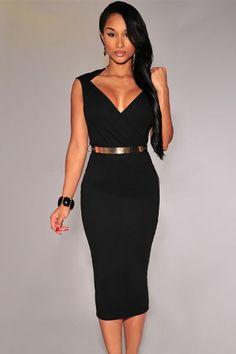 Sukienka midi czarna  ołówkowa  elegancka