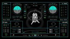"NASA UI Design for ""The Martian"" by Territory Studio  http://www.territorystudio.com/work/motion/?p=Martian"