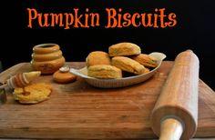 Quick Pumpkin  Biscuits Recipe