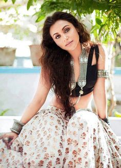 Rani Mukherjee was born on 21 March She began a full-time career in Bollywood with the 1997 social drama Raja Ki Aayegi Baraat, and subsequently featured in Karan Johar's blockbuster romance Kuch Kuch Hota Hai zoOm wishes her a very zoOmelicious birthday. Bollywood Stars, Bollywood Fashion, Indian Attire, Indian Wear, Bollywood Celebrities, Bollywood Actress, Indian Celebrities, Indian Dresses, Indian Outfits