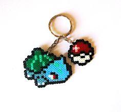 Bulbasaur Sprite, Keychain, Sprite XL, brooch, magnet... / Llavero, SpriteXL…