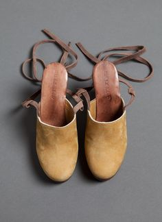 Billy Reid Ankle Tie Mule