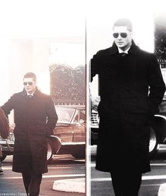 Can't place this pic....is it an upcoming ep?  When does he wear a long coat? Whatever it is, he looks good!