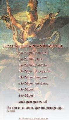 Oração do Arcanjo Miguel