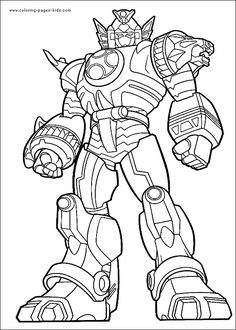 8 Best Power Rangers Coloring Pages images | Power rangers coloring ...