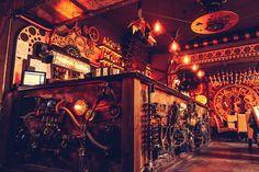 Look Inside A Great Steampunk Pub Avant Garde Studio
