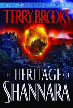 The Heritage of Shannara  by Terry Brooks. A great quartet of fantasy books with fantastic characters.
