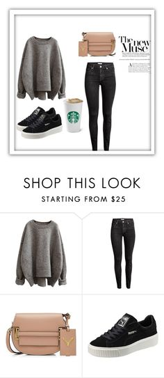 """""""fashion"""" by oasap ❤ liked on Polyvore featuring Valentino and Puma"""