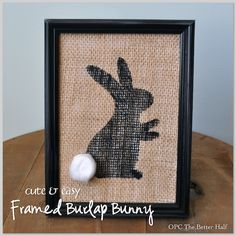5 Minutes or Less: 5 Dollar Store Easter Decor Ideas, including burlap bunny