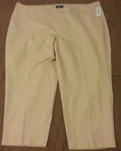 Check out NWT Old Navy Harper cropped pants plus size 24 short #OldNavy #CaprisCropped http://www.ebay.com/itm/-/292043681996?roken=cUgayN&soutkn=nzVdk3 via @eBay