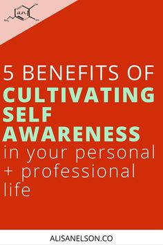 5 benefits of cultivating self-awareness - Alisa Nelson How To Handle Stress, Effects Of Stress, Conflict Resolution, Self Awareness, Best Relationship, Stress Management, Feel Good, Benefit, Coaching