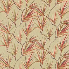 Harlequin Calliope Fabric A calm motif depicting shady palm trees against an understated background. Harlequin Fabrics, Sanderson Fabric, Painted Rug, Made To Measure Curtains, Curtains With Blinds, Curtain Fabric, Fabric Wallpaper, Fabric Samples, Fabric Design