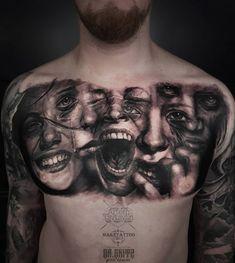 Evil Skull Tattoo, Skull Hand Tattoo, Mask Tattoo, Mother Daughter Tattoos, Tattoos For Daughters, Body Art Tattoos, Hand Tattoos, Good And Evil Tattoos, Common Tattoos
