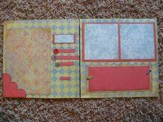 8x8 Scrapbook Layout Ideas