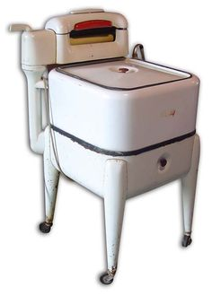 Wringer Washer - I got my hand caught in the rollers one time when I was 5.  Didn't break anything, but it flattened my hand for awhile!