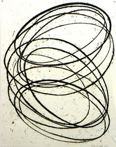 "Richard Serra original etching - ""Cycle"" - $16455 ... pocket change really"