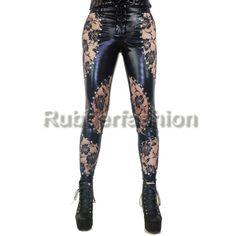 Sexy Stretch Glanz Wetlook Leggings mit viel Spitze #Leggings #Motiv #Legings #Hose #Leggins #Motivlegging #Legings #Hose #Legins 35.90 EUR inkl. 19% MwSt. zzgl. Versand