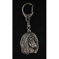 Keyring covered with thin layer of silver (1)