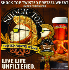 Shock top twisted pretzel wheat beer is hands down the BEST beer I have EVER!! Had!!