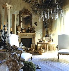 Dreamy french living room