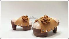 Zapato cuña de tacón para fofuchas
