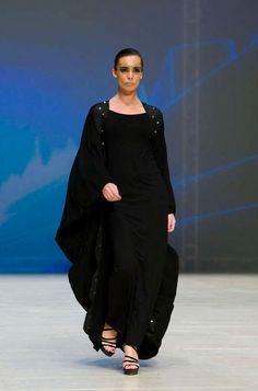 Ush Design by Abeer Al Suwaidi show at Dubai Fashion Week, World Trade Centre