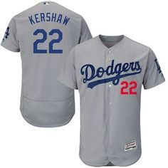 549fb848f553a Clayton Kershaw Los Angeles Dodgers Majestic Alternate Road Flex Base  Authentic Collection Player Jersey - Gray