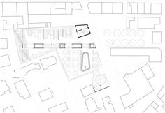 Image 15 of 23 from gallery of City Center Pavilion and Main Square / Comac. Photograph by Comac Main Square, Roman City, Public Square, Cultural Center, Plaza, Pavilion, Maine, Floor Plans, How To Plan