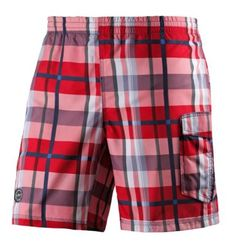 billabong all day geo layback badeshorts herren dunkelgrau rot badehosen badeshorts. Black Bedroom Furniture Sets. Home Design Ideas