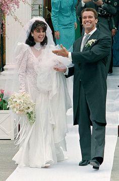 Arnold Schwarzenegger and Maria Shriver   April 26, 1986
