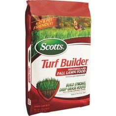 """Check out """"Scotts Turf Builder WinterGuard Winterizer Fall Fertilizer"""" from Do…"""
