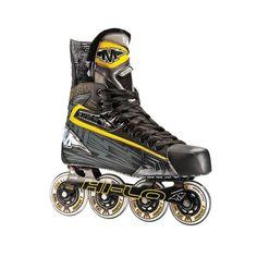 Roller Hockey Skates - Mission Hockey Axiom Senior Inline Hockey Skates >>> You can get additional details at the image link. Roller Hockey Skates, Roller Skate Shoes, Roller Skating, Skates For Sale, Kids Skates, Skate Fish, Inline Hockey, Gym Time, Tricycle