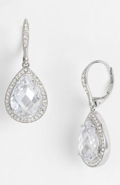 Nadri Pear Drop Earrings (Nordstrom Exclusive) available at #Nordstrom