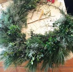 Join Mara from The Farm at Oxford and Ali from Burlap and Blooms as we demonstrate and then guide you in a fresh, live wreath creation that will grace your home throughout the holiday season and beyond.   The class: Two hours of wine, music and laughter as you make your very own fresh, live wreath with hands-on instruction by Ali and Mara.   Price: $95 per person