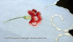 Society Silk carnation. Beautiful shading!