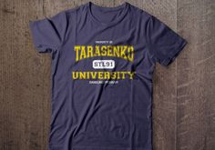 """""""Tarasenko University"""" tees now available at www.Northlegends.ca"""