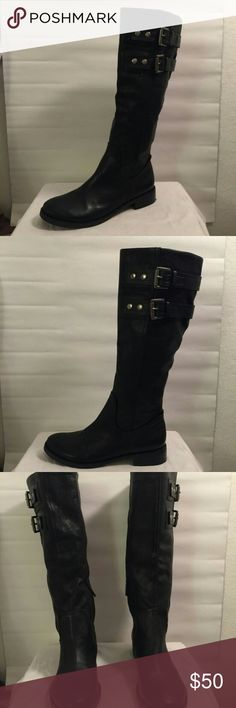 Nine West knee high boots Never worn. Great condition. Box not included. Open to offers⭐ Please feel free to ask questions Nine West Shoes Heeled Boots