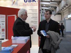 Unser Besuch auf der Cebit in Hannover - 2013. Fachleute unter sich.