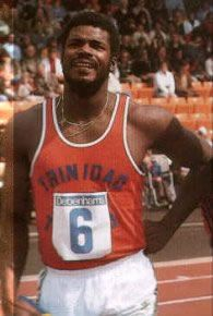 "Hasely Joachim Crawford TC ""A national hero""  won the 100m at the Montreal Olympics winning Trinidad and Tobago's first Olympic gold medal In 1975 .AWARDS: 1976 - Trinidad & Tobago Trinity Cross (for Sport) 2000 - Trinidad & Tobago Athlete of the Millennium 2005 - Central American and Caribbean Hall of Fame 2012 - Commonwealth Sports Awards - Lifetime Achievement Hasely comes from Marabella, San Fernando."