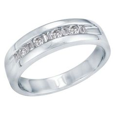 1/2ct TW Men's Diamond Ring in 14K Gold available at #HelzbergDiamonds
