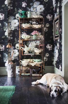 The London Home of Florist Nikki Tibbles currently for sale via Domus Nova (8)