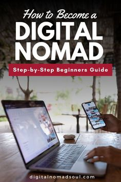 Do you want to become a digital nomad? Work remotely and travel the world permanently? This guide will tell you everything you need to know to become location-independent and live the nomad life. Check it out now! #remotework #nomads #locationindependence #expat